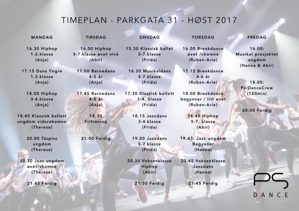 TIMEPLAN PARKGATA NY 2