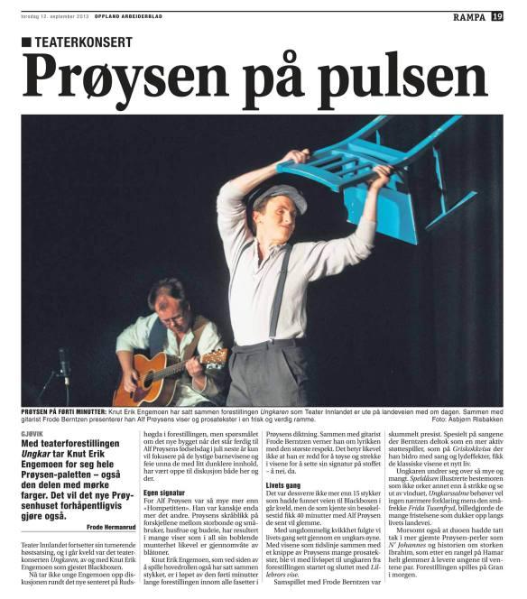 Storfint besøk av Knut Erik Engemoen!!