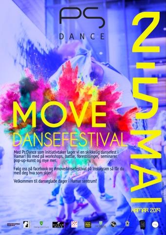 PlakatDansefestivalen2019